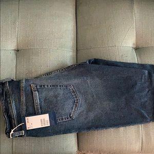 HM skinny distressed jeans